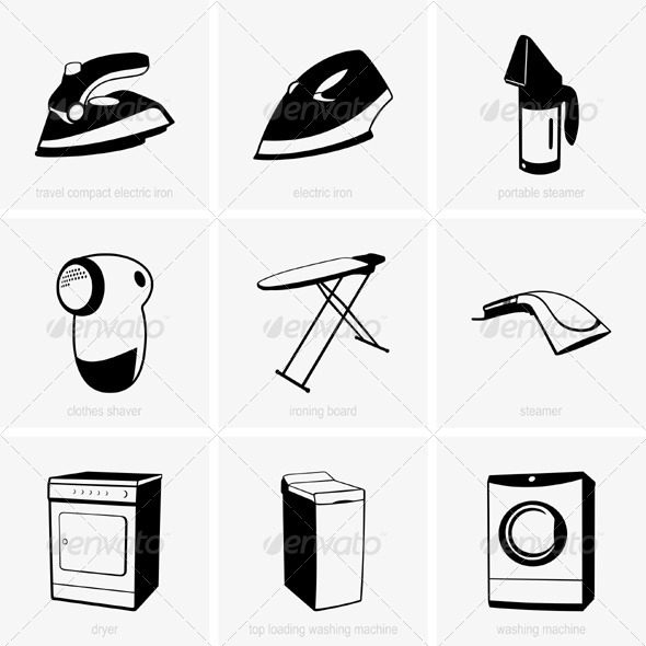 GraphicRiver Cleaning Tools 5286831