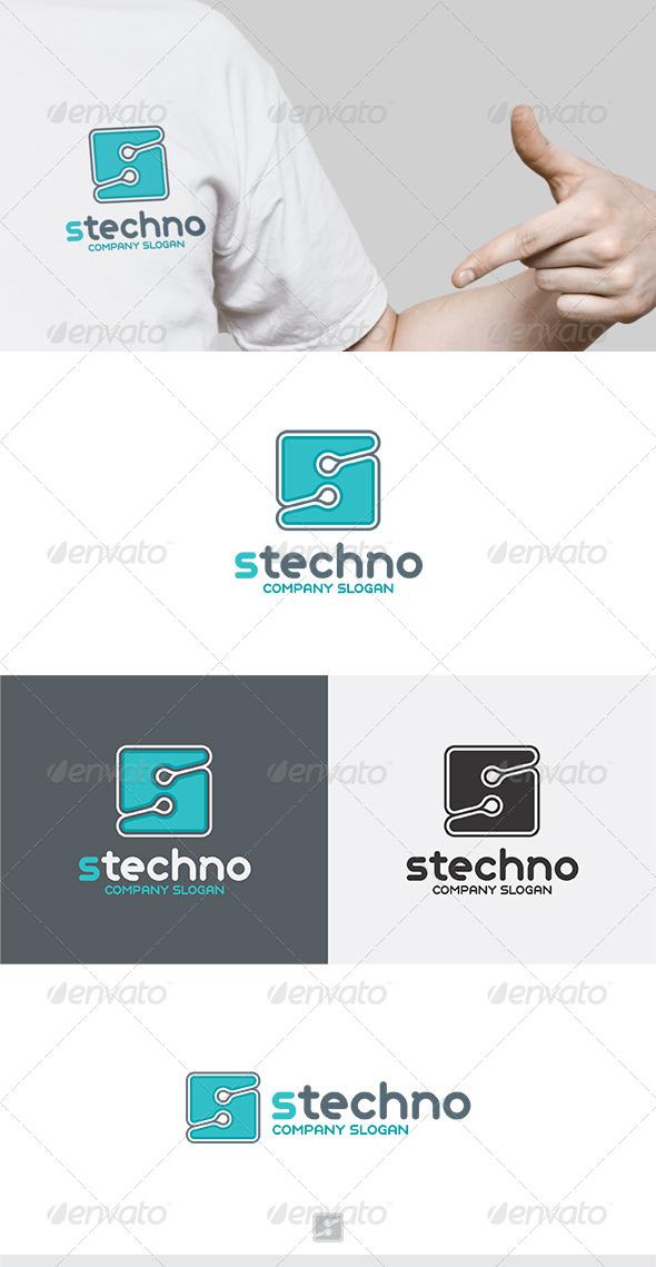 S Techno Logo