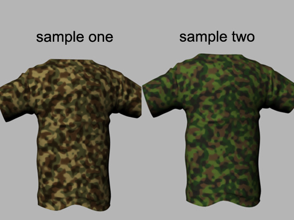 Army camouflage tileable texture cloth Shader - 3DOcean Item for Sale