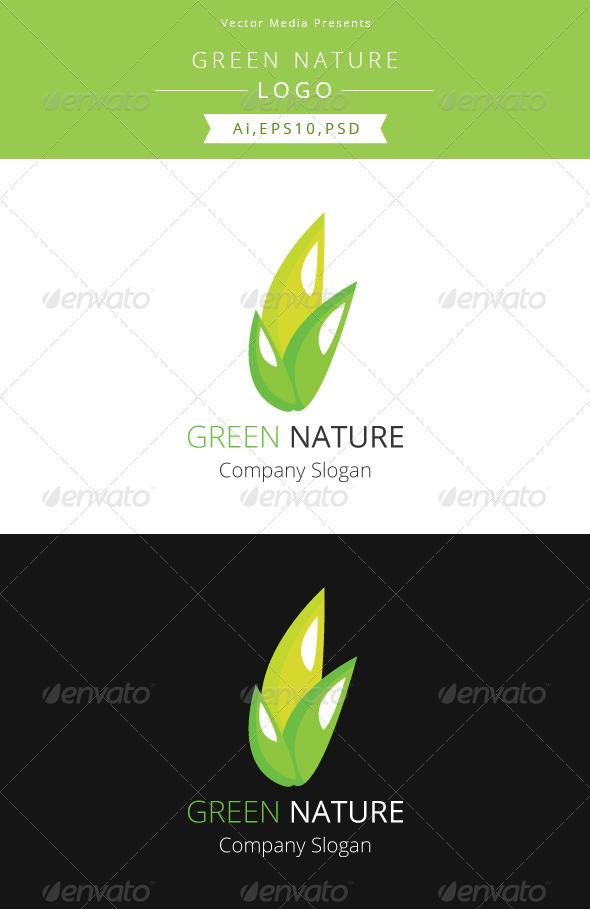 GraphicRiver Green Nature Logo Template 5287601