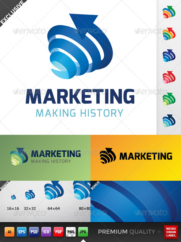 GraphicRiver Marketing Logo 5278447