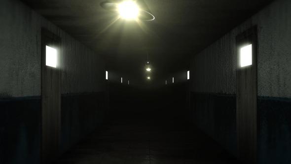 Videohive dark and creepy horror corridor 2 pack of 9 5287901