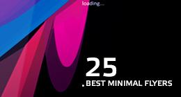 25 Best Minimal Flyers