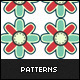 10 Colorful Vintage Patterns - GraphicRiver Item for Sale