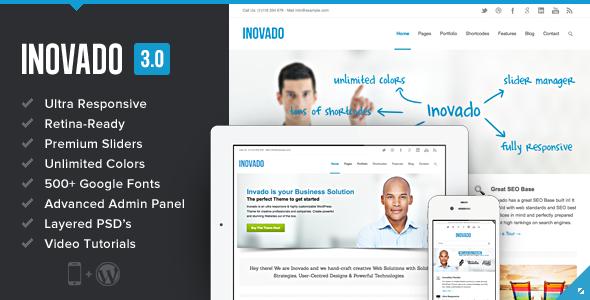 15 diseños corporativos de pago para Wordpress