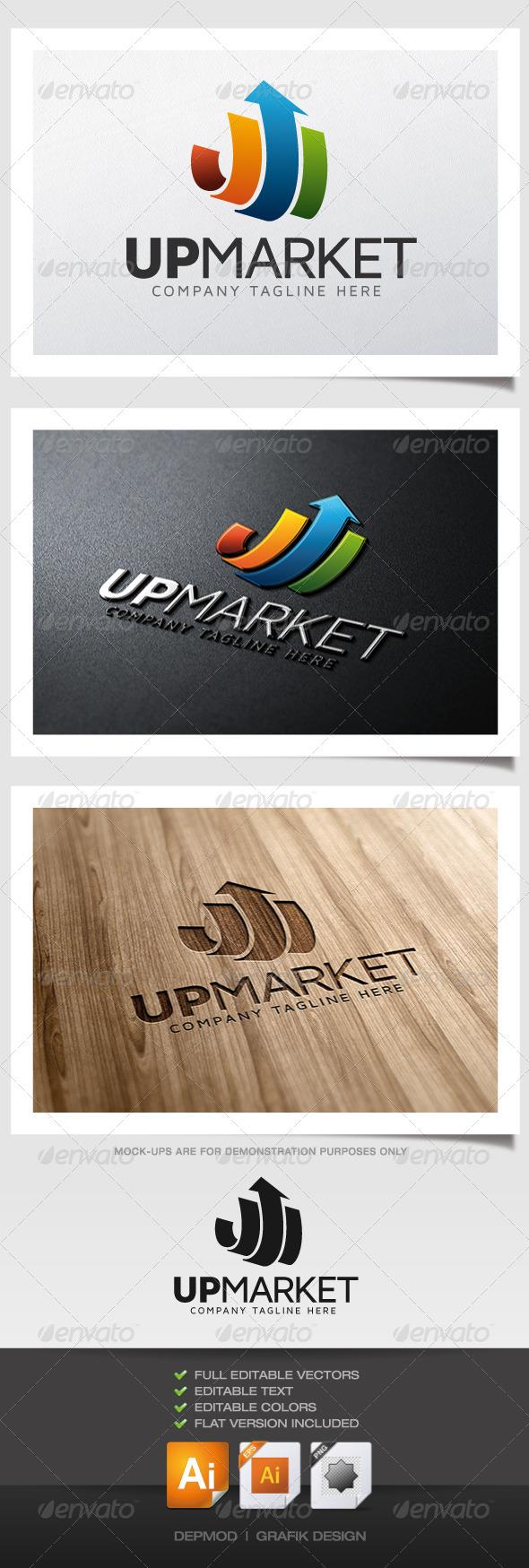 GraphicRiver Up Market Logo 5288725