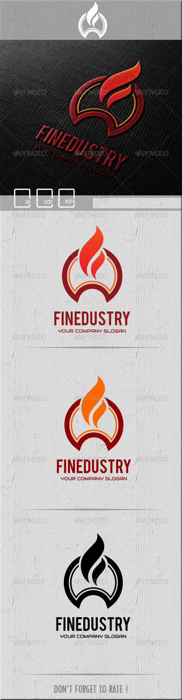 Finedustry Logo - Symbols Logo Templates