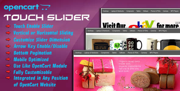 CodeCanyon opencart touch slider 5289500