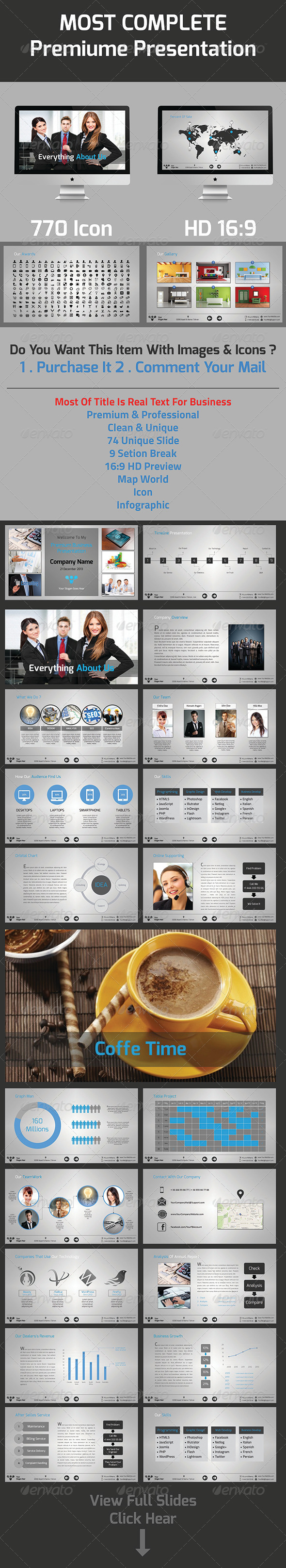 GraphicRiver Most Complete Business Presentation 5262854