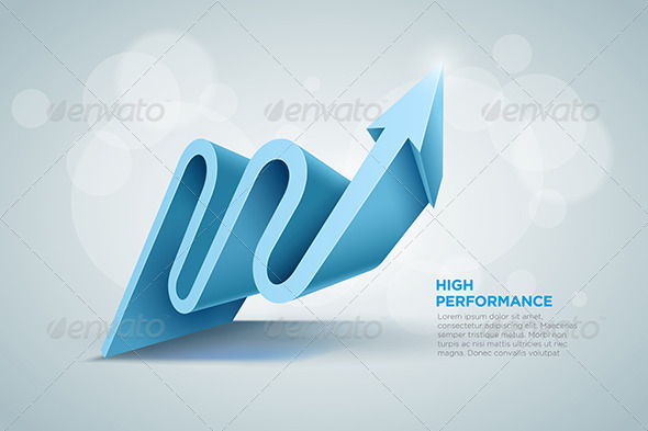GraphicRiver 3D Arrow 5290232