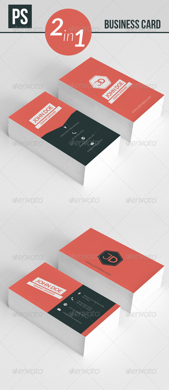 GraphicRiver Business Card 5290261