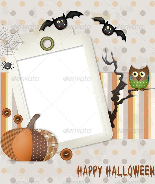GraphicRiver Happy Halloween Scrapbook 5290361