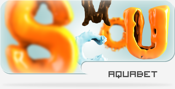 Aquabet Liquid Alphabet
