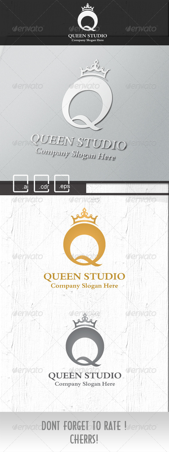 GraphicRiver Queen Royal Studio logo 5269891
