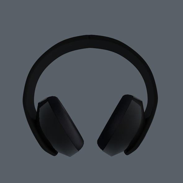 3DOcean Dark Headphones 5290446