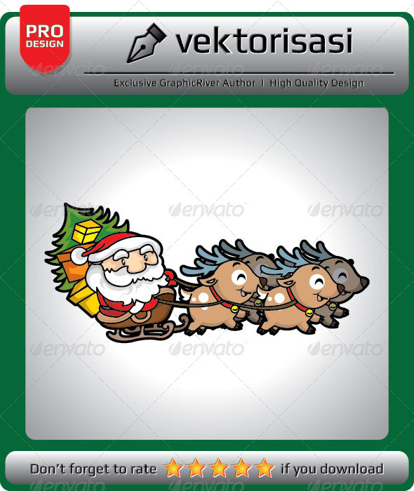 GraphicRiver Santa Claus 5291188