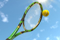 Tennis Racket with Tennis Ball - PhotoDune Item for Sale