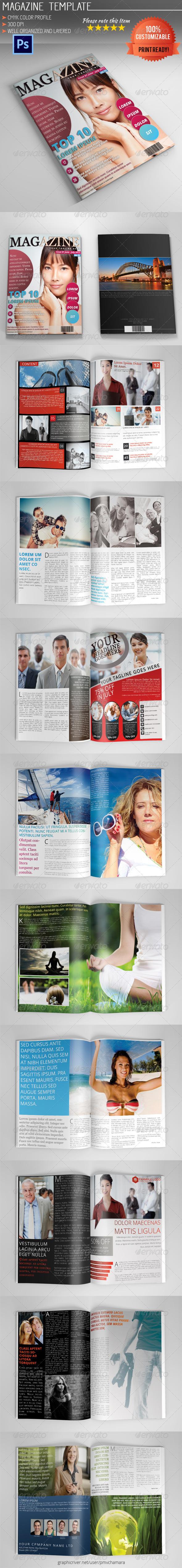 GraphicRiver Magazine Template Vol.2 5234591