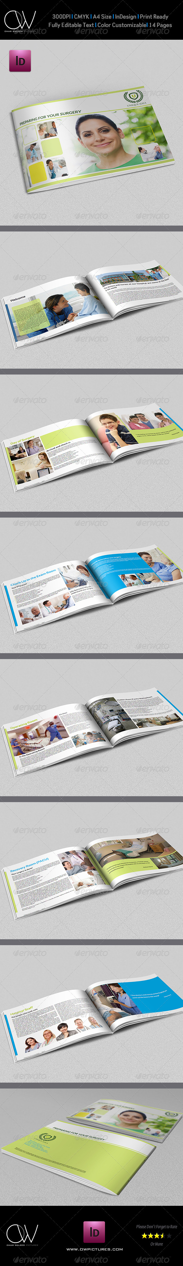 GraphicRiver Preparing for Your Surgery Brochure Template 5291927