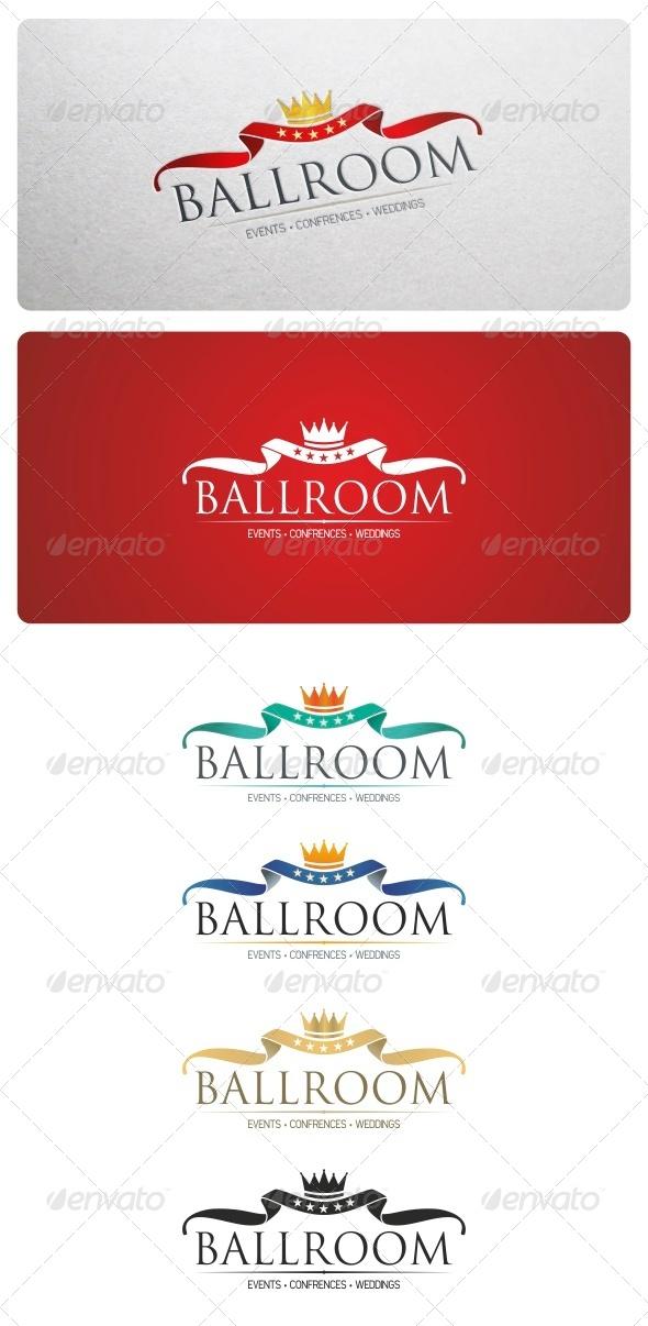 Ballroom Logo Template