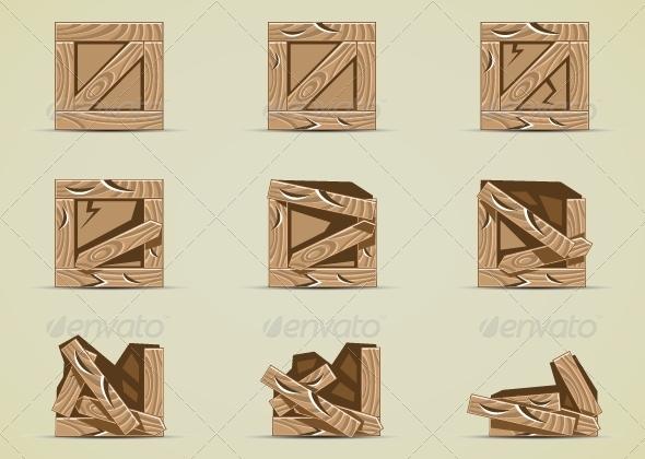 GraphicRiver Broken Light Brown Box 5292180