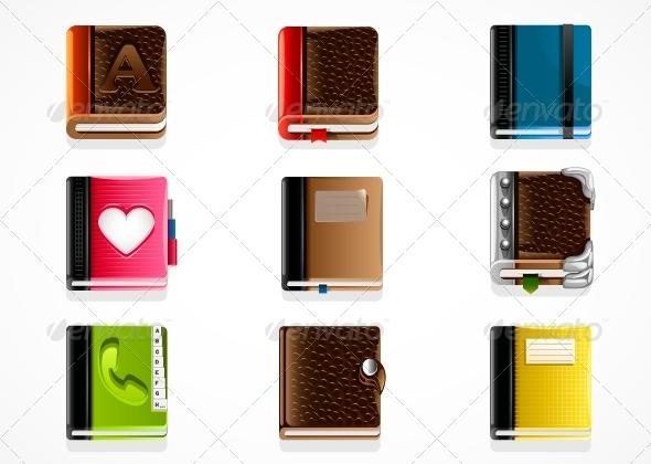 GraphicRiver Set of Books 5292217