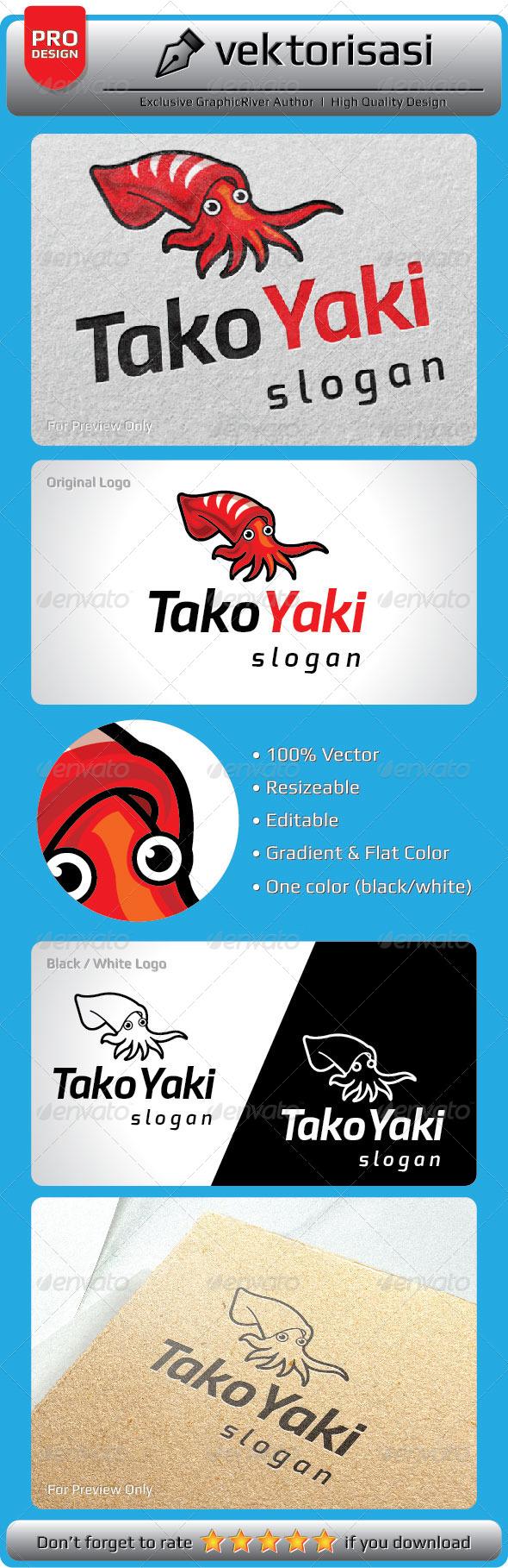 GraphicRiver TakoYaki Logo 5292221