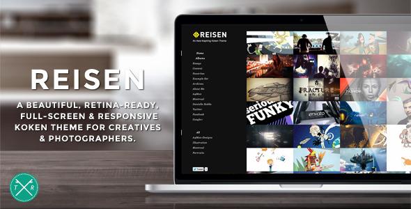 Reisen - Full-Width Koken Photography Theme
