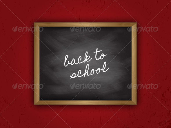 GraphicRiver Back to School Background 5292366