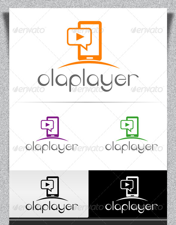 GraphicRiver Olaplayer Logo Design 5268915