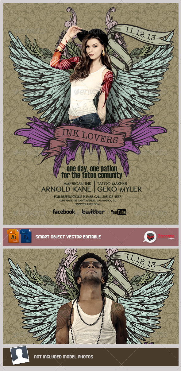 GraphicRiver Tatoo Lovers 5235328