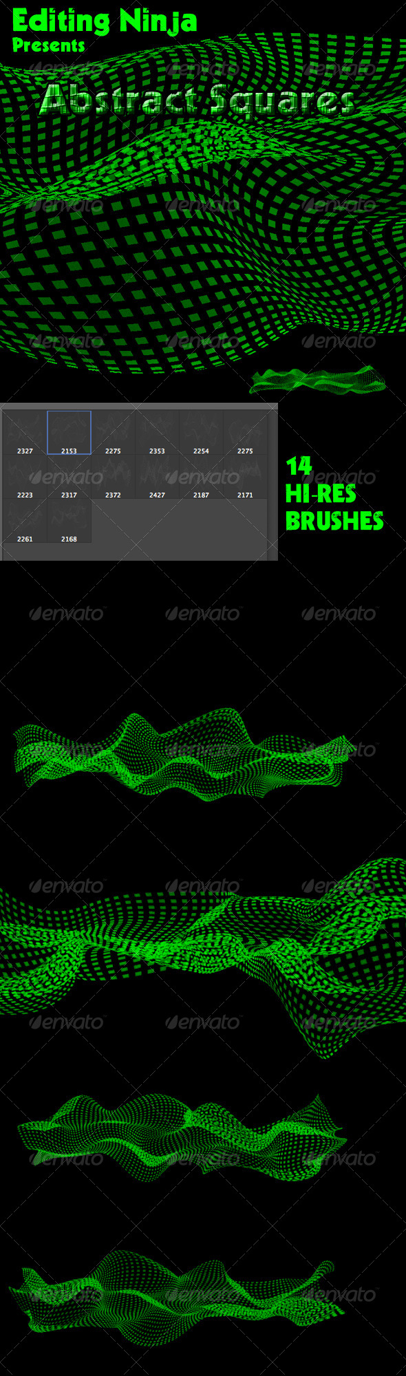 GraphicRiver Abstract Squares 5292769