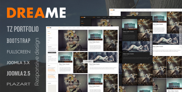 ThemeForest Dreame Responsive Joomla Template 5292867