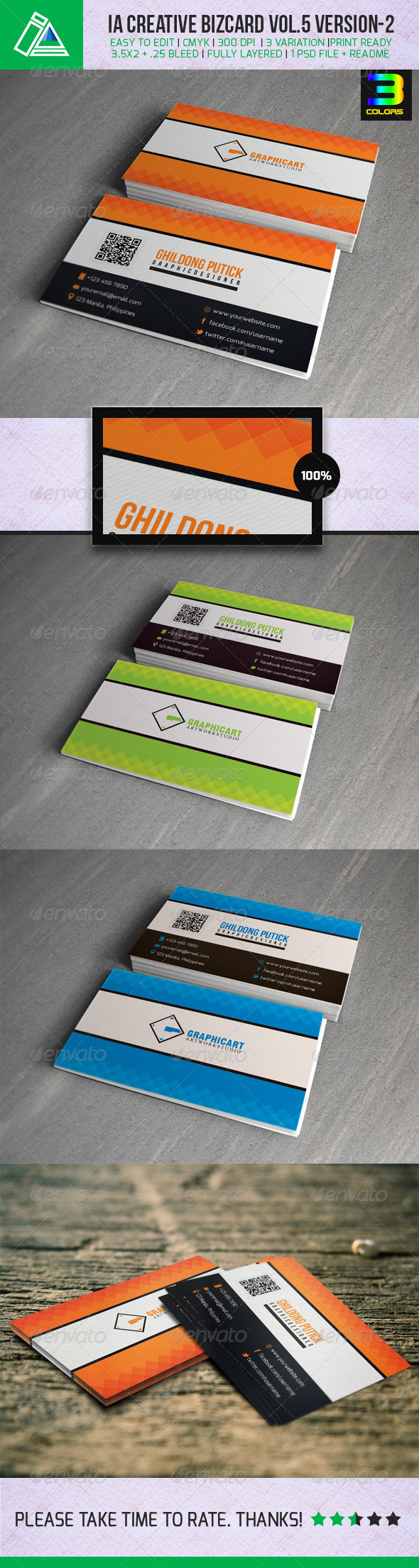 GraphicRiver IA Business Card Vol.5 Version 2 4986717