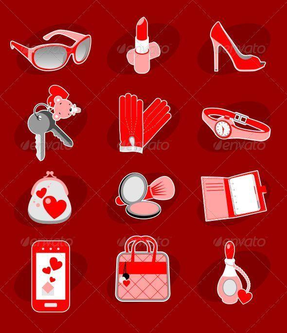 GraphicRiver Female Accessories 5293495