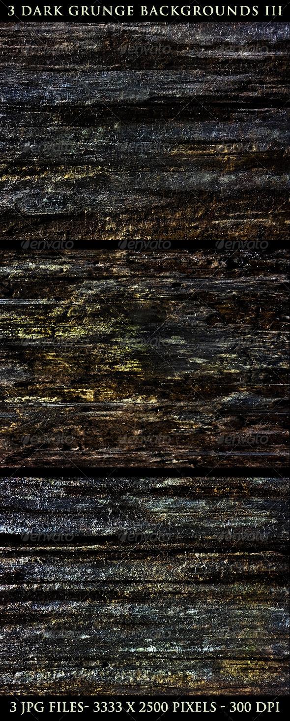 GraphicRiver 3 Dark Grunge Backgrounds Version 3 5293532