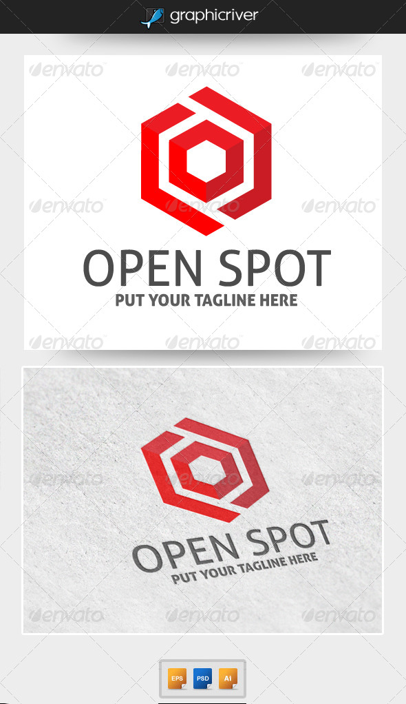 GraphicRiver Openspot Logo Template 5253993