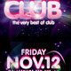 Welcome to Club Poster/Flyer Template - GraphicRiver Item for Sale