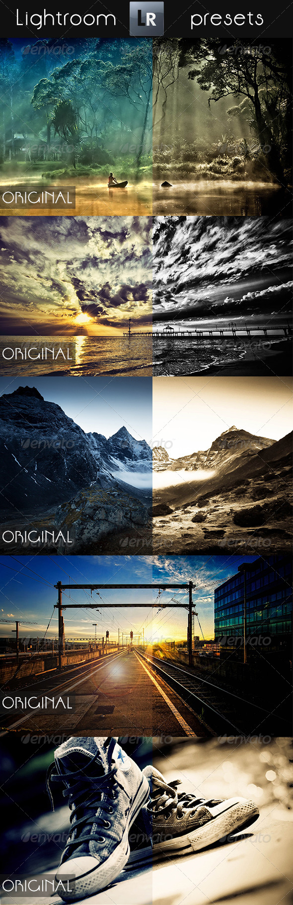 GraphicRiver 10 Mixed Pro Presets 5293920