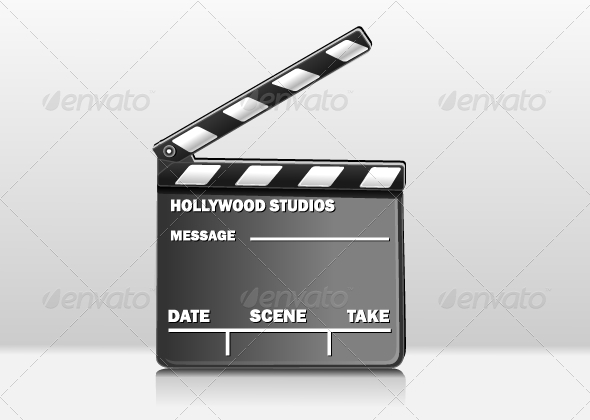 GraphicRiver Film Clapper 5294166