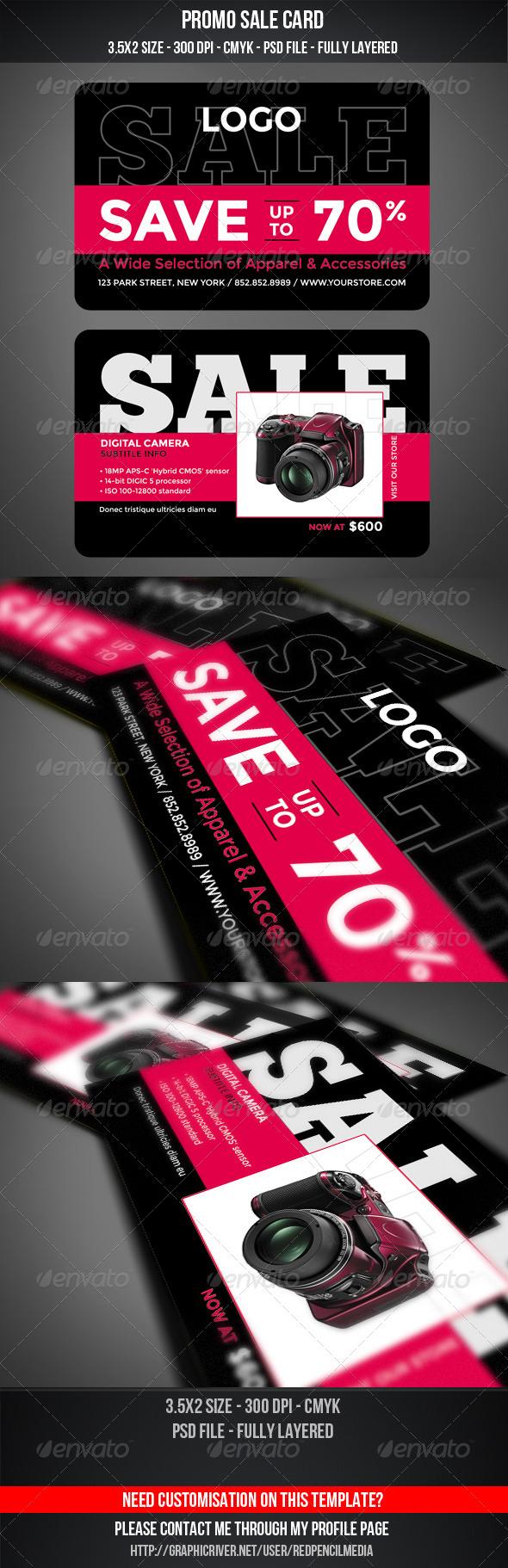 GraphicRiver Promo Sale Card 5240872