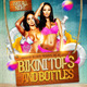 Bikini Tops and Bottles Flyer - GraphicRiver Item for Sale