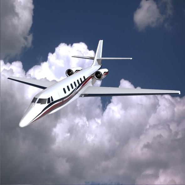 3DOcean Cessna Citation Sovereign private jet 5294529