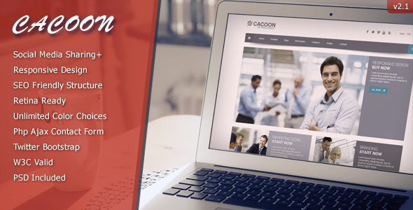Cacoon - Responsive Business Theme - Business Corporate
