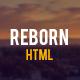 Link toReborn - retro onepage