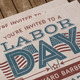 Labor Day Flyer & Postcard - GraphicRiver Item for Sale