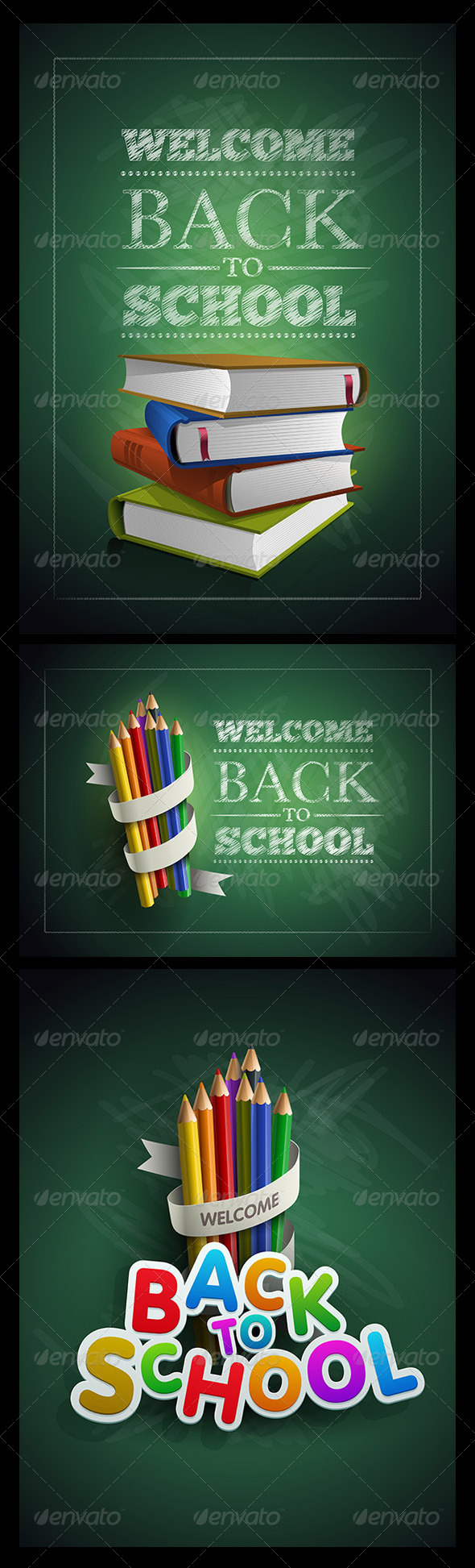 GraphicRiver Back to School 5296852