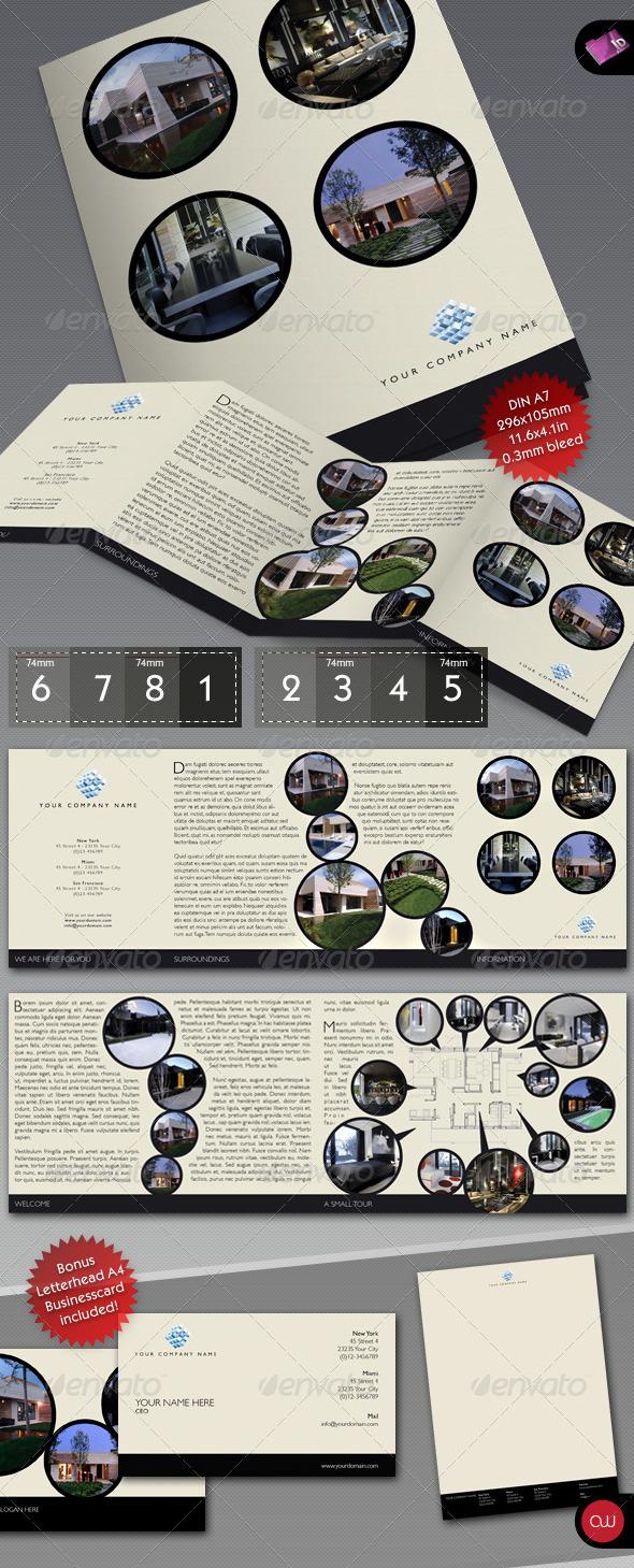 GraphicRiver Book & Brochure 4-fold template 160493