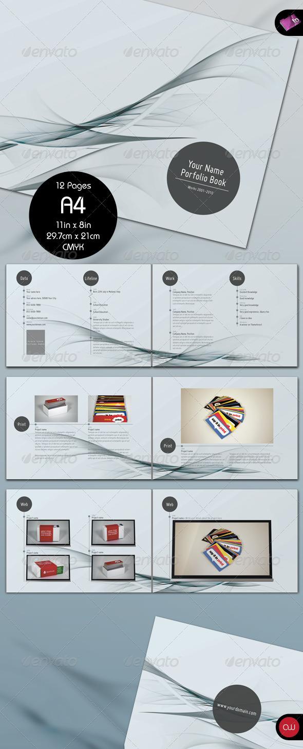 GraphicRiver Waves Portfolio Brochure 12 Pages 161876