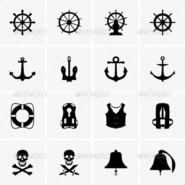 GraphicRiver Anchors and Wheels 5297452